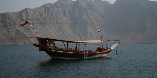 Un dhow en Khasab