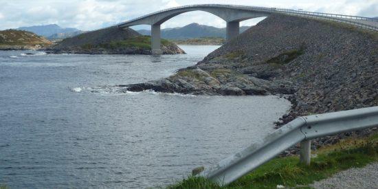 Kristiansand la carretera del Atlantico Puente