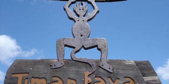 Cartel Parque Nacional Timanfaya Lanzarote