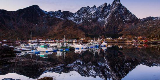 Puerto Noruego Montañas y fiordos Excursión para cruceros Leknes