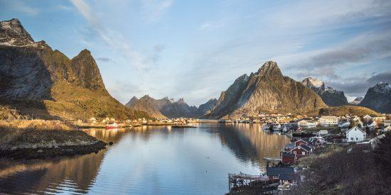 Excursión por los fiordos Noruegos Leknes