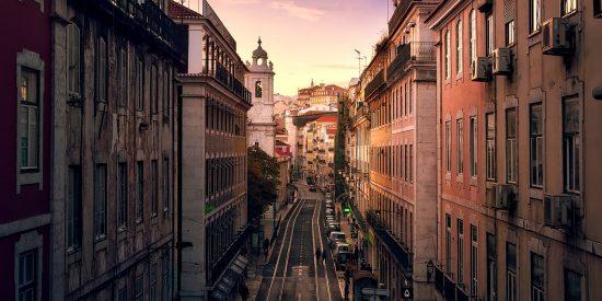 Preciosa Foto Calles de Lisboa