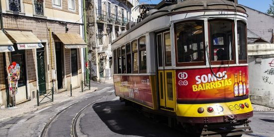 Tranvías por Lisboa Portugal Visita guiada para cruceros