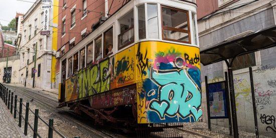 Tranvías por Lisboa Portugal Visita guiada