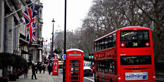 Autobús y cabina de Londres