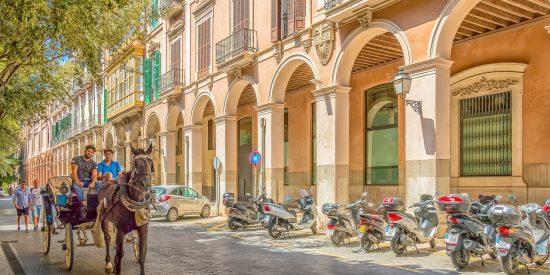 Paseo por las calles de Mallorca
