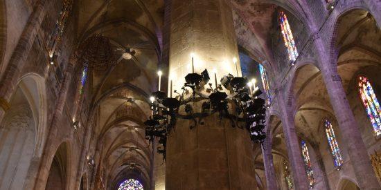 Interior de la Catedral de Mallorca