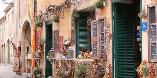 Pintorescas calles de Mallorca