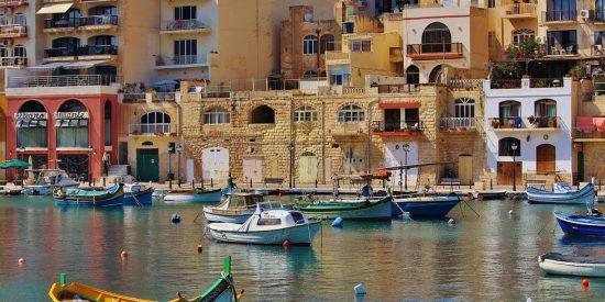 Puerto en Malta