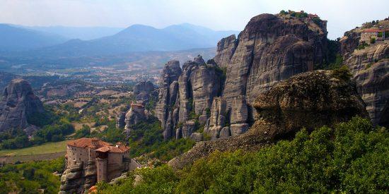 Visita guiada a los monasterios de Meteora