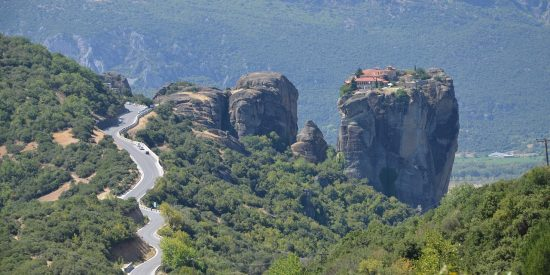 Monasterios suspendidos en el aire Meteora