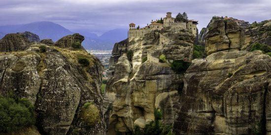 Los monasterios de Meteora Grecia