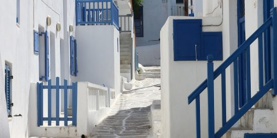 Calles de Mikonos Grecia
