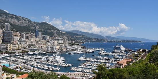 Vistas al puerto de Mónaco Excursión