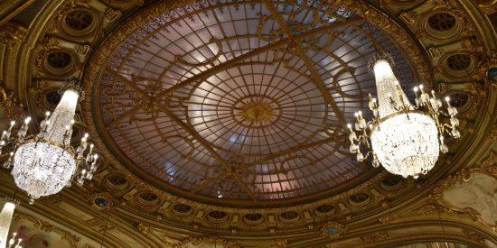 Techos cúpula del Gran casino Montecarlo visita guiada