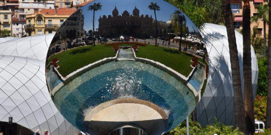 Espejo del casino de Montecarlo visita