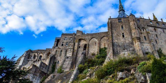 Murallas del Mont Saint Michel Francia