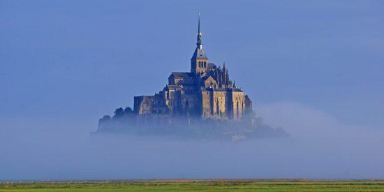 Espectacular foto del Mont Saint Michel Francia