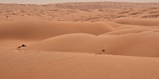 Desiertos de Oman Muscat Mascate