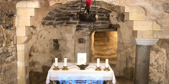 Gruta de la anunciación en Nazareth Visita guiada Turismo