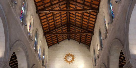 Interior Iglesia en Nazareth