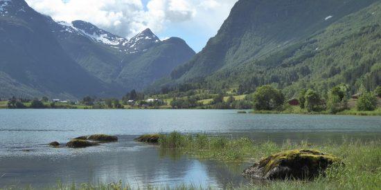 olden glaciar briksdal Visita al Glaciar Noruega