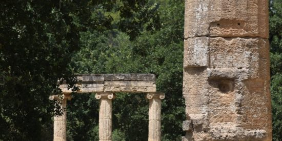 Filipeo Olimpia yacimiento arqueológico Peloponeso Grecia