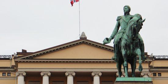 Escultura Carlos XIV Juan, Rey de Suecia, Karl Johan III, Rey de Noruega