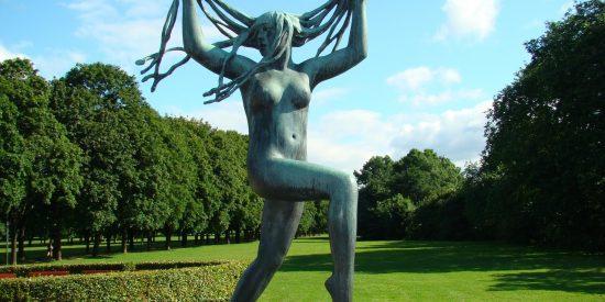 Parque de las esculturas Oslo Noruega
