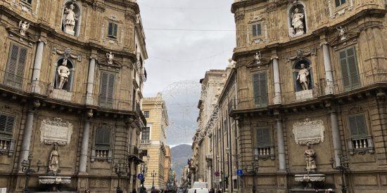 Los Quattro Canti Visita turística por Palermo