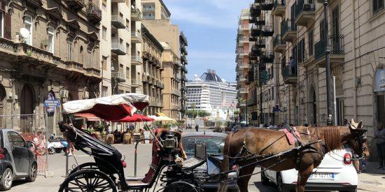 Imagen caracteristica Palermo carro de caballo en calles de Palermo