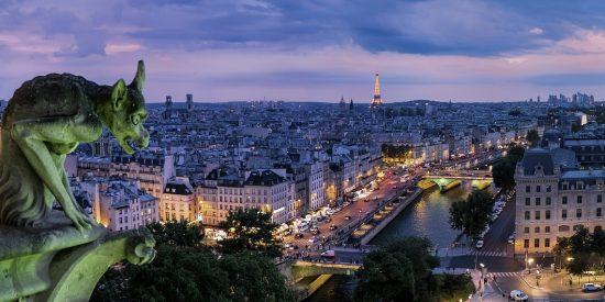 Gárgola sobre París Vistas espectaculares París