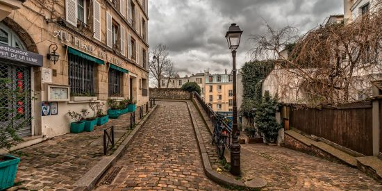 Empedrado Parisino calles empedradas París