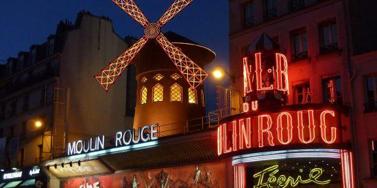 Moulin Rouge en Paris