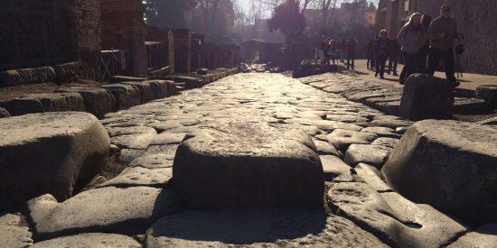 Calles empedradas en Pompeya Visita Guiada Excursión cruceros