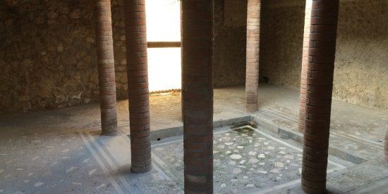Interior viviendas en Pompeya Visita Guiada
