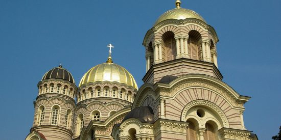 Catedral de la natividad de Riga Letonia Excursión cruceros