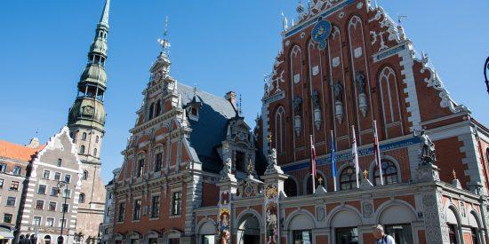 Casa de los cabezas negras Riga Letonia