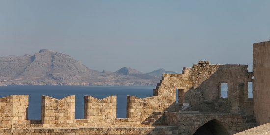 Muralla Ciudad de Rodas Crucero por las islas griegas