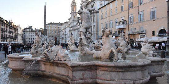 Fuentes de roma Tour por Roma Visita