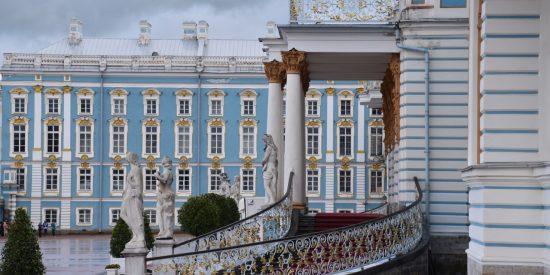 Palacio de Catalina la Grande Rusia