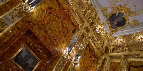 Palacio de Catalina la Grande en San Petersburgo