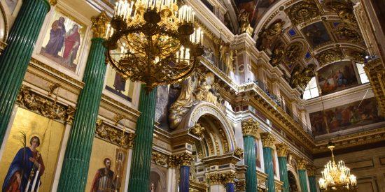 Visita a la Catedral de San Isaac