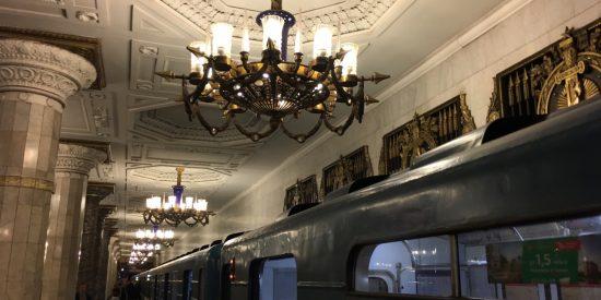 Visita el metro de San Petersburgo