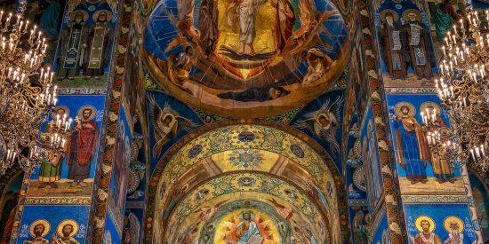 Iglesia del Salvador sobre la sangre derramada San Petesburgo