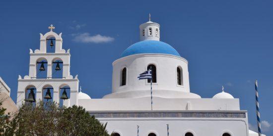 Iglesias más bonitas en Santorini crucero islas Griegas