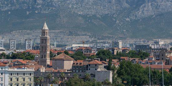 Puerto en Split Croacia