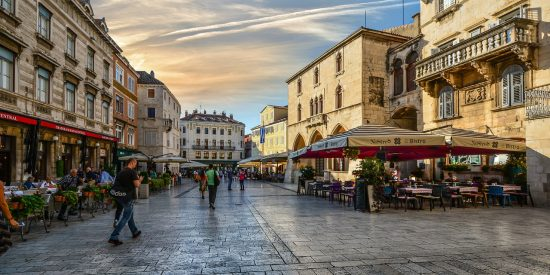 Terraceo Terrazas en Split Croacia