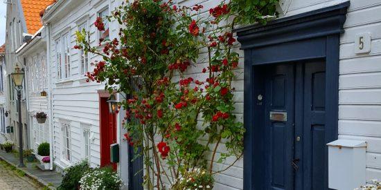 Casas Tradicionales en Stavanger Noruega