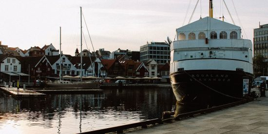 Puerto en Stavanger Noruega
